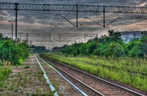 Train Station by Athrian