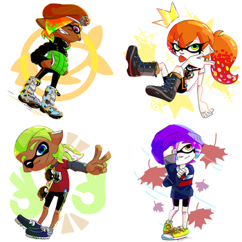 Cm_More cool squids by Chivi-chivik
