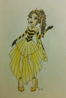 Monster High Request- Cwen Wasp by rhythmic-art