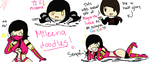 Mileena doodles for the day by ezioauditore115