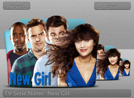 New Girl - Tv Series Folder Icon by atty12