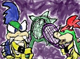 Koopaling Rivalry by Quacksquared