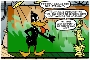 Daffy Duck (Master System) by theEyZmaster