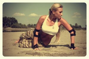 Mortal Kombat Sonya Blade 008 by EvenSummer