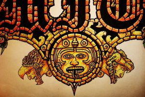 AZTEC Sun, EAGLE and JAGUAR by kiddgrimm