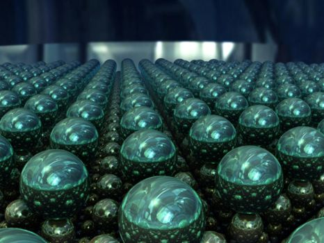 Spheres In Rows by Undead-Academy