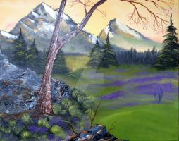 Violet Meadow by FrankLoria