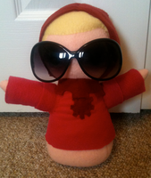 Dave Plushie by Blubble-The-Blubs