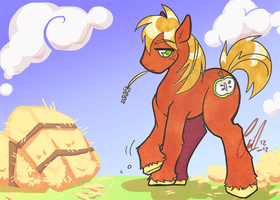 MLP: Working Hoss by carnival
