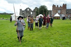 17th Century Life and Times at Tutbury Castle by masimage