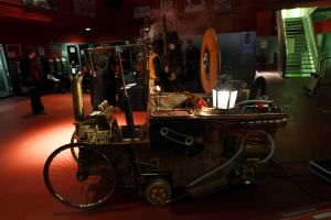 my Steampunk Mobile Vehicle by SteamPunk-Creator