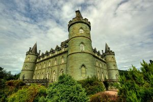 Inverary Castle HDR by GaryTaffinder