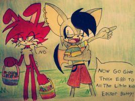 Happy Easter 2013? by evil-angel13