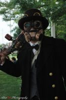 Steampunk Guy by kawaiilove