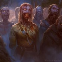 human zombie horde by texahol