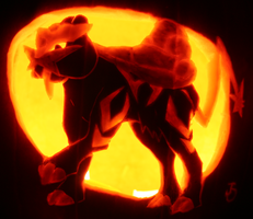 Raikou- Beast of Thunder by johwee