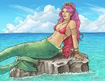 Mermaid Sunning Herself by delightedmuse