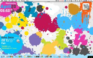 My Mac OS X desktop by ibnadem