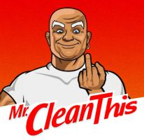 Mr Clean This by KAdDigArt