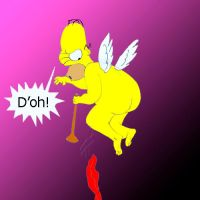 Homer, don't be a fairy by Trey-Vore
