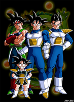 4 Saiyajin 4 Generation by Niiii-Link