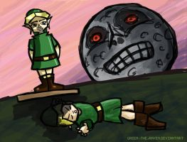 Majora's Mask Ben drowned .WMV by Greer-The-Raven