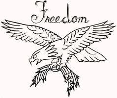 Freedom - Traditional by onfire4Him