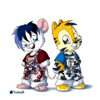 Cub Camo Rodents by Tavi-Munk