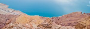 Another Dead Sea Panorama Shot by zeidroid