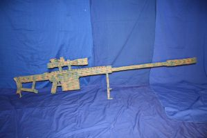 Suppressed  50 cal Sniper Rifle by RayMackenzie