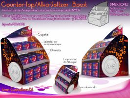 Counter-top Alka-Seltzer Boost by Ivan-Caballero-DI