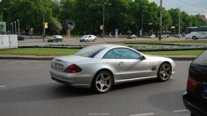 Mercedes-Benz SL55 AMG by ShadowPhotography