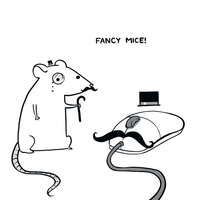 Fancy Mice by arseniic