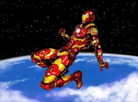 Ironman 2015 by VincentBryantArt