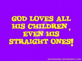 God loves all his children by hernanches