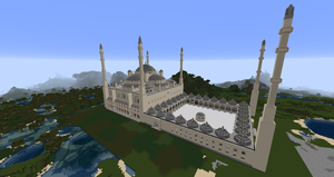 Minecraft - Sultan Ahmad (Blue) Mosque by MinecraftArchitect90