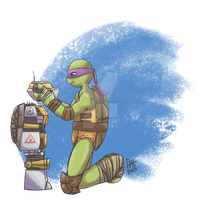 [TMNT] Beginning Again by Fold39Crane