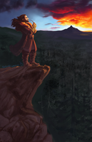 Thorin and his Mountain by ancalinar