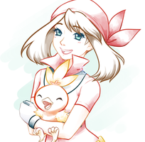24, 25 - Trainer, generation and starter by shiroganeRyo