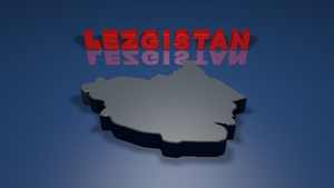 Lezgistan as claimed by lezgin nationalists by SkudasLazepe2012