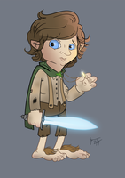 FRODO BAGGINS by melies