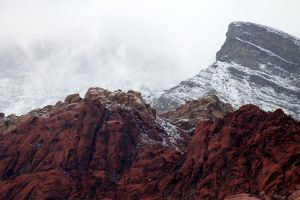 Snow at Red Rock by I-Heart-Photos
