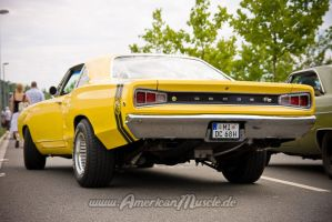 yellow superbee by AmericanMuscle