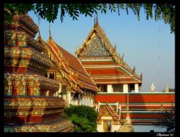 Wat Pho Temple by Stephanie4