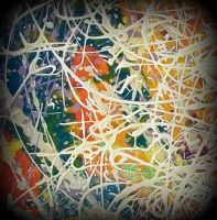 colorfull abstractos pollock style by santosam81