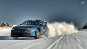 Subaru Impreza WRC '08 snow rally by LS-Coloringlife