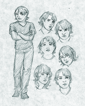 Mila Sketches by Anavar