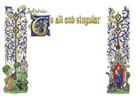 To All And Singular by dashinvaine