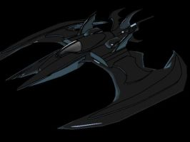 Batwing somewhat 3d by phil-cho