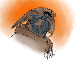iScribble Garrus by Wolf-Shadow77